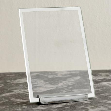 MIRRORED GLASS PHOTO FRAME in Accessories